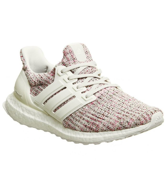 newest 7beb5 0d05c Ultra Boost Trainers  adidas Ultraboost, Ultra Boost Trainers, Chalk Pearl  Cloud White Shock Pink W ...