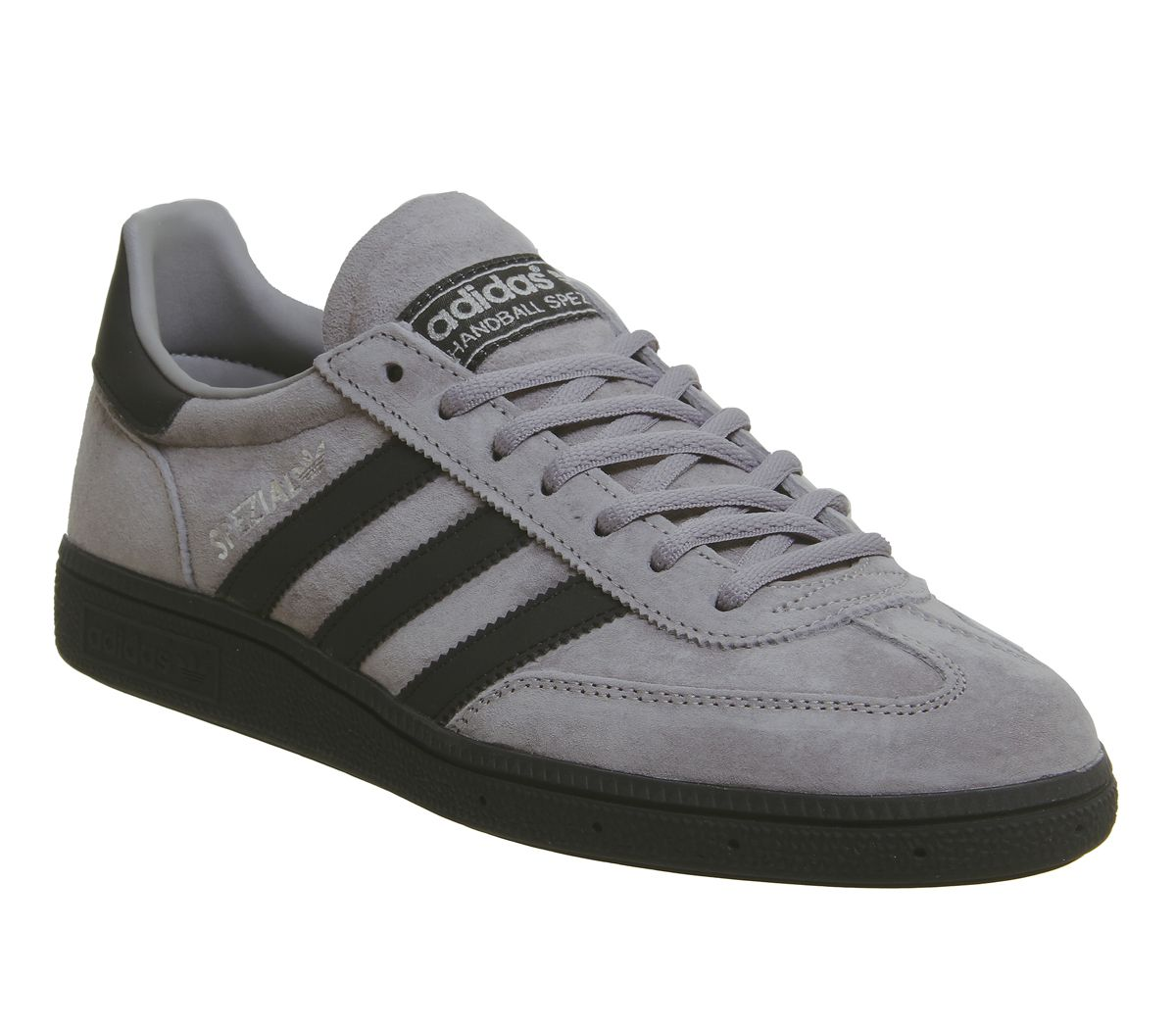 3559dcd7f21c adidas Handball Spezial Trainers Solid Grey Core Black Silver ...