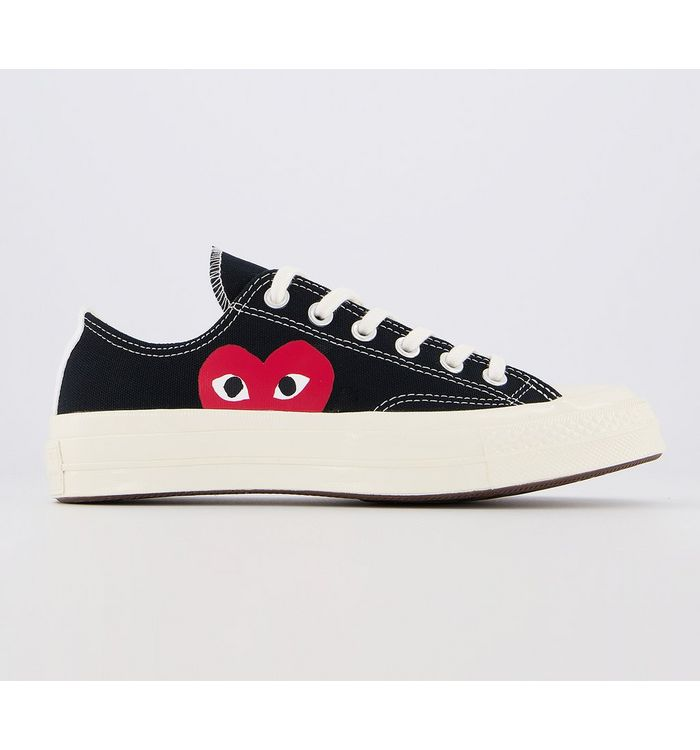 Comme Des Garcons Ct Lo 70s X Play Cdg BLACK,Black, White and Red,Green and Red,Pale Pink and Red,Khaki and Red,White and Red,White and Black,Blue,Grey,Pink