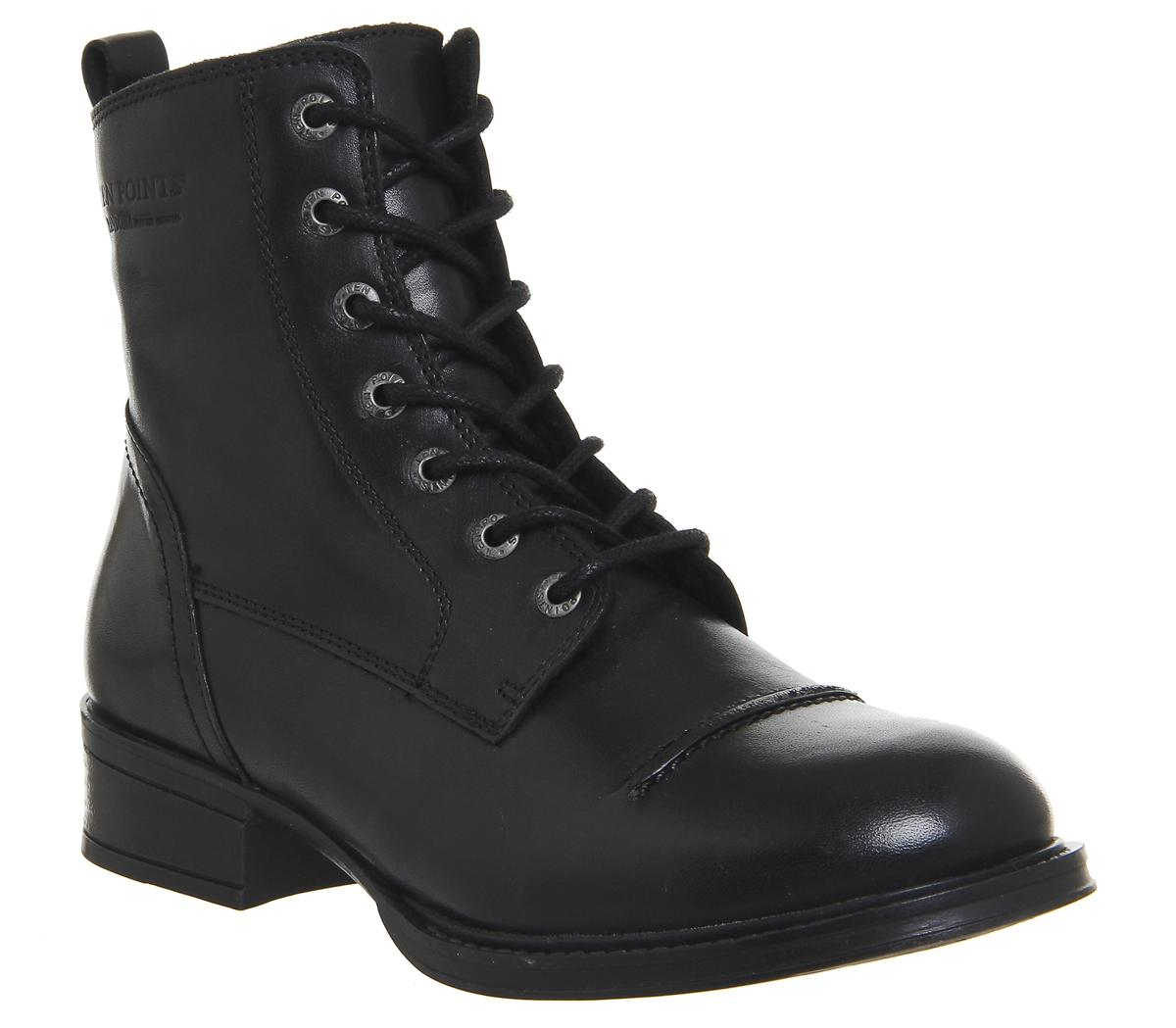 Pandora Lace Mid Boots