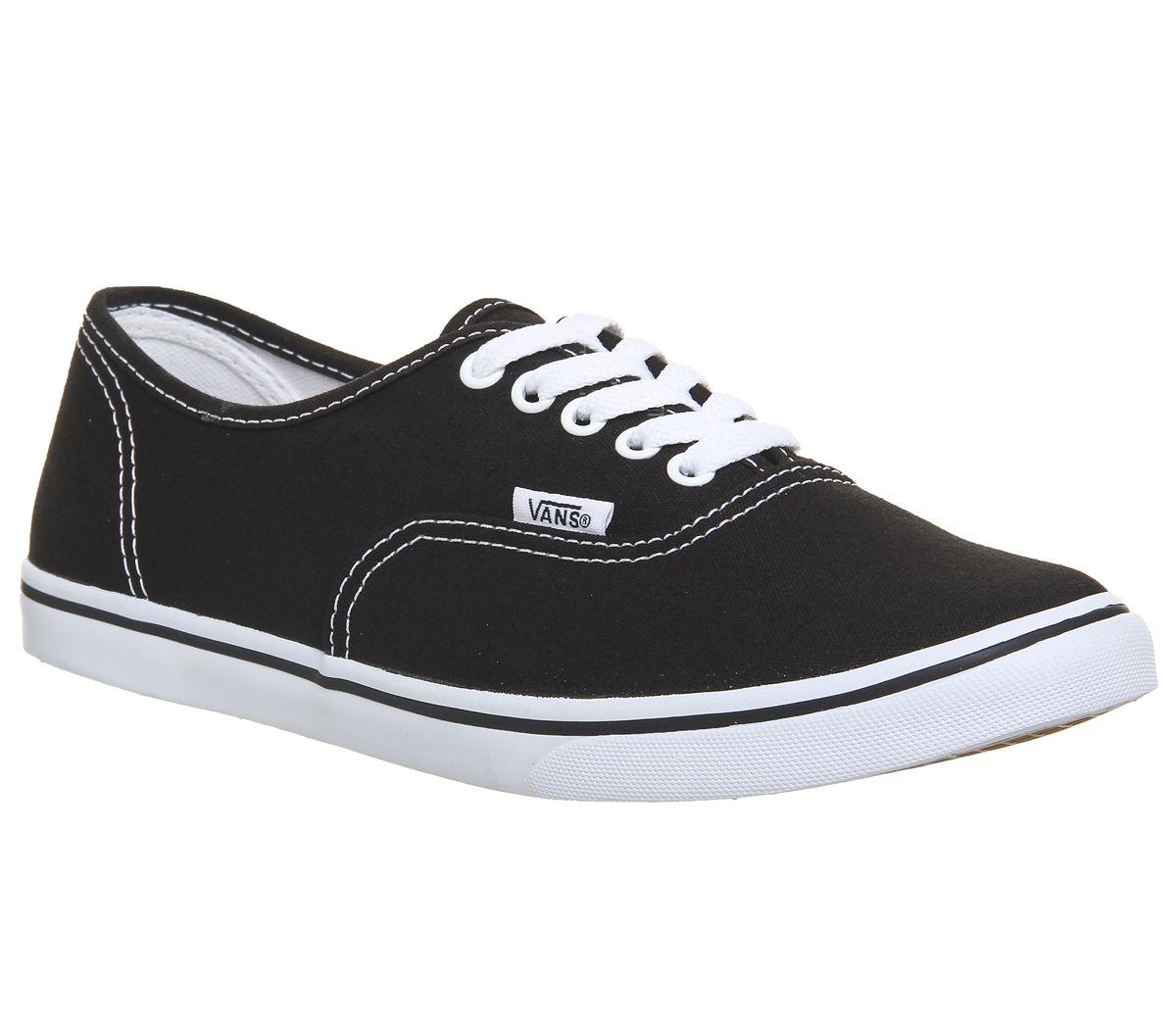 cb8684f639 Vans Authentic Lo Pro Black White - junior
