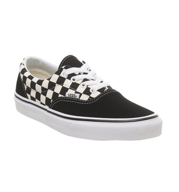 buying now so cheap ever popular Vans Era Trainers Black White Checkerboard - Hers trainers