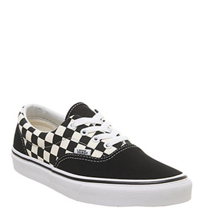 728a2cd995 01-03-2019 · Vans Era Trainers Black White Checkerboard
