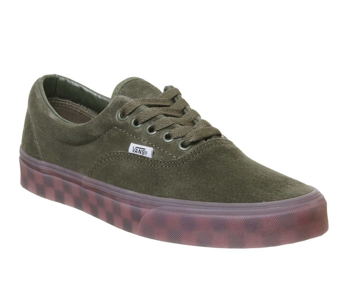 7dae69c6ab094d Vans Era Trainers Grape Leaf Checker Ice Sole - Unisex Sports