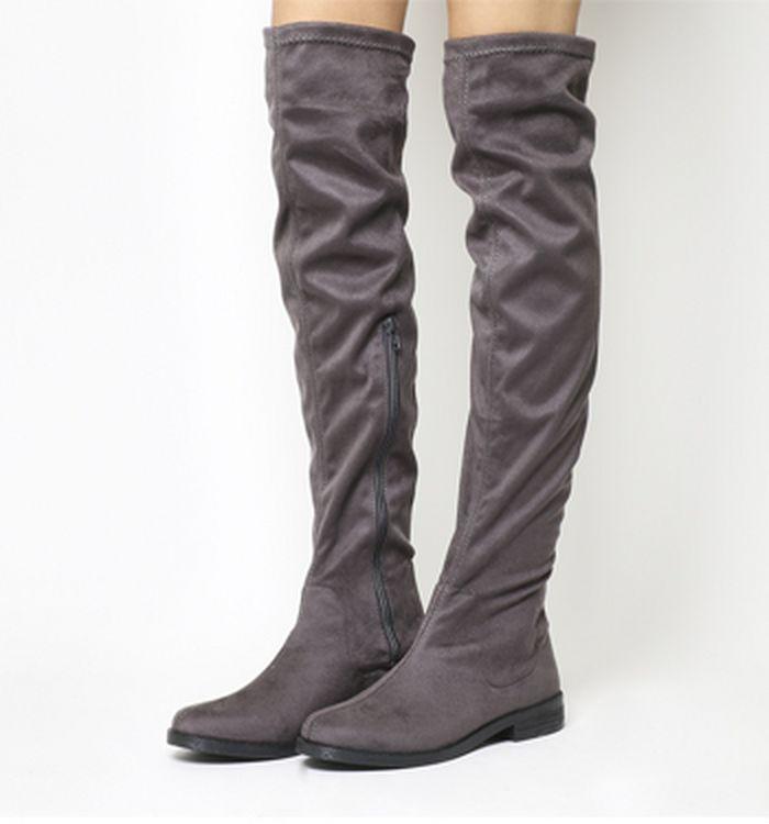 65611c23cfe05 Knee High Boots | Heeled & Flat Knee Boots | OFFICE