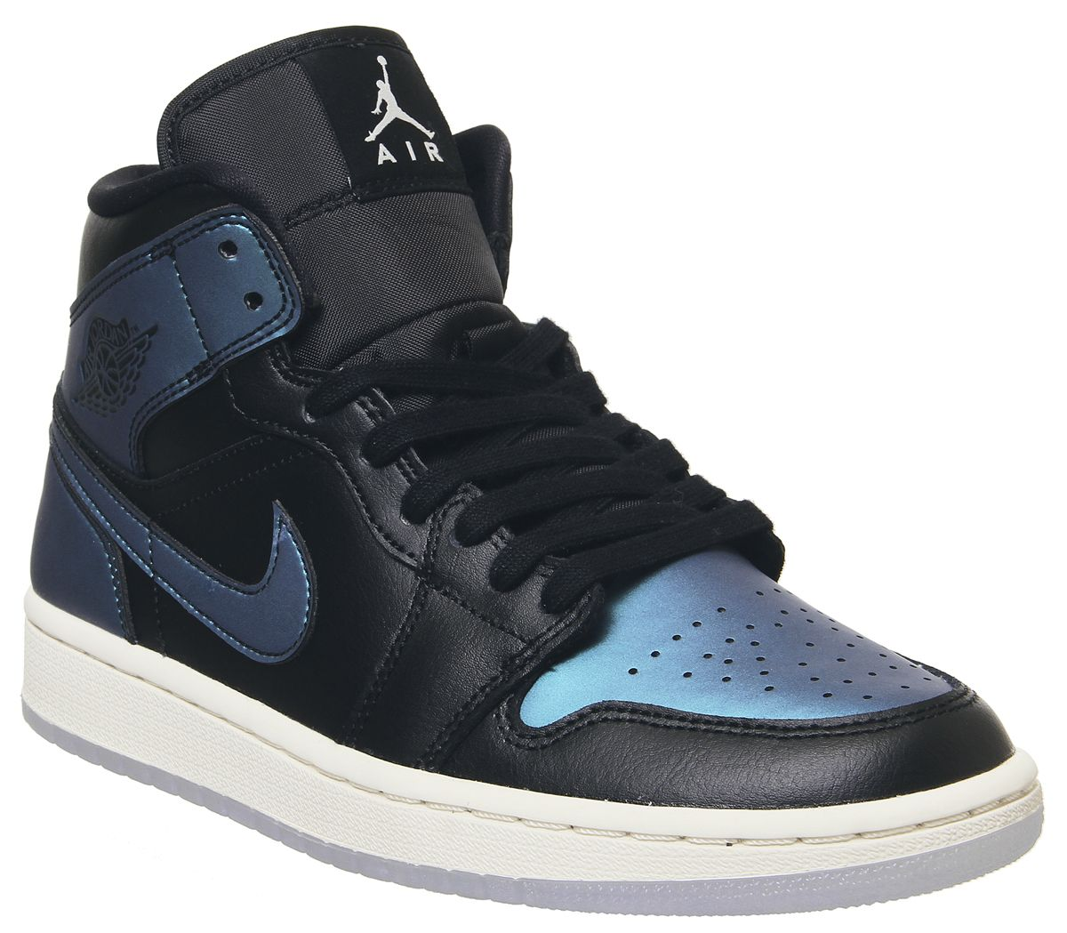 website for discount best best place Jordan Air Jordan 1 Mid Trainers Black Pale Ivory Multi ...
