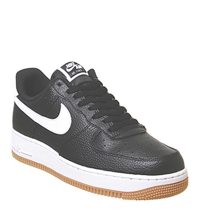 efbb43bb37ceb7 08-07-2019. Nike Air Force 1 Lv8 Trainers Black White Wolf Grey Gum Medium  Brown