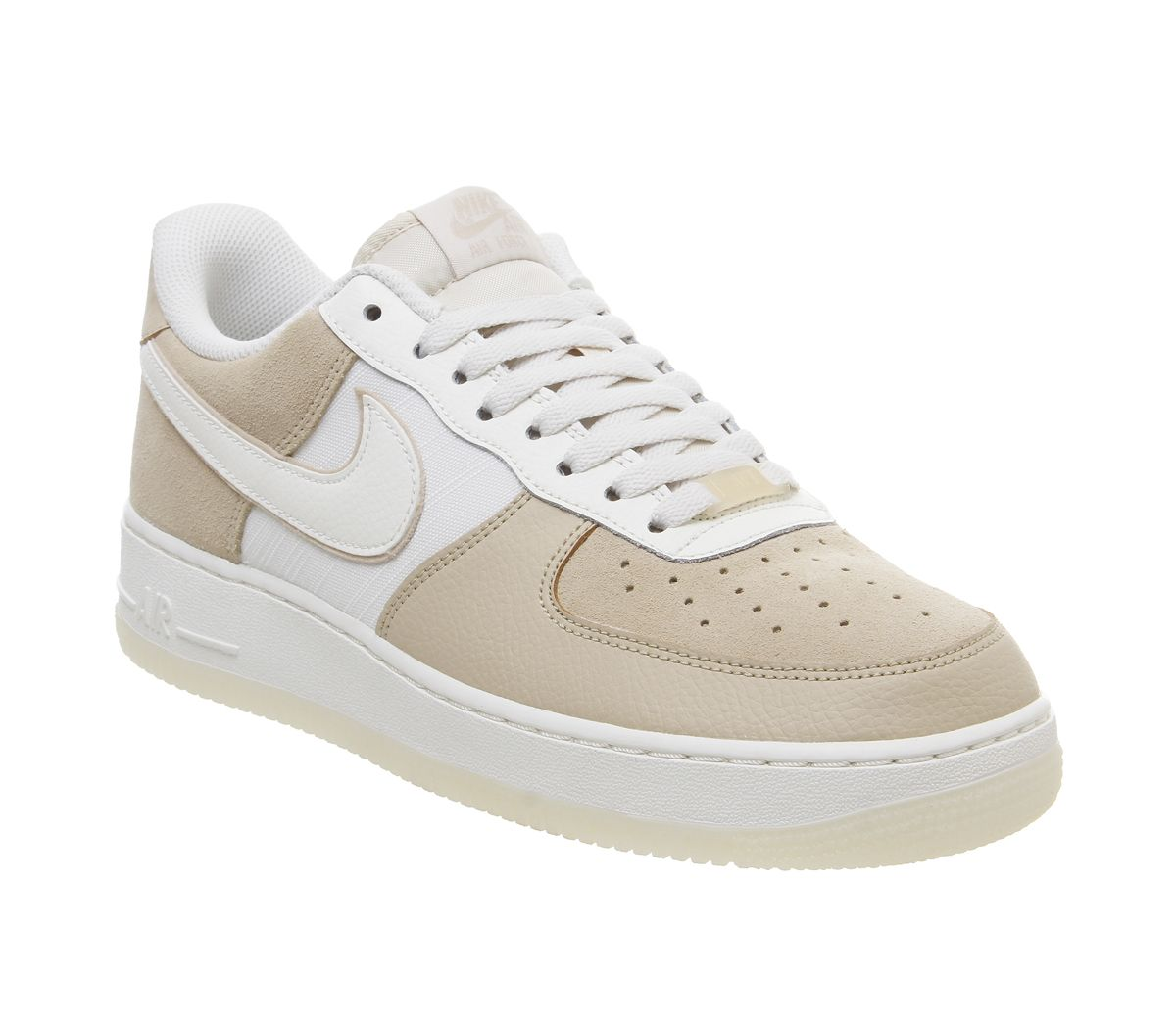 ea0071fc Nike Air Force 1 Lv8 Trainers Desert Ore Sail Light Cream Pale Ivory ...