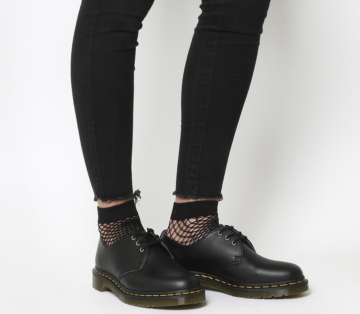 d14ad184f2 Dr. Martens Vegan 1461 3 Eye Shoes Black - Flats