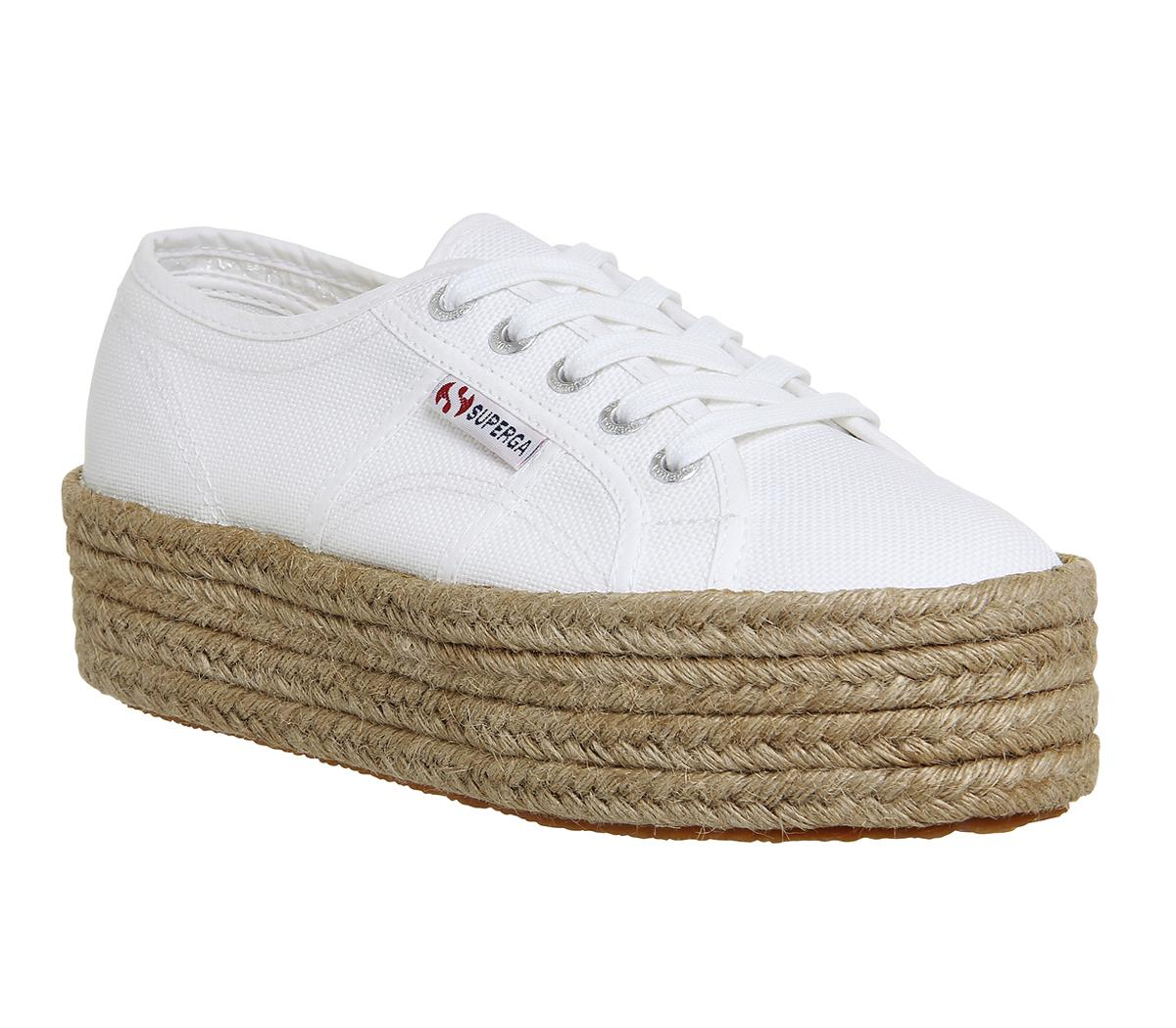 Hers Zqpgsumv Trainers Superga 2790 Espadrille White Yvf67bgy