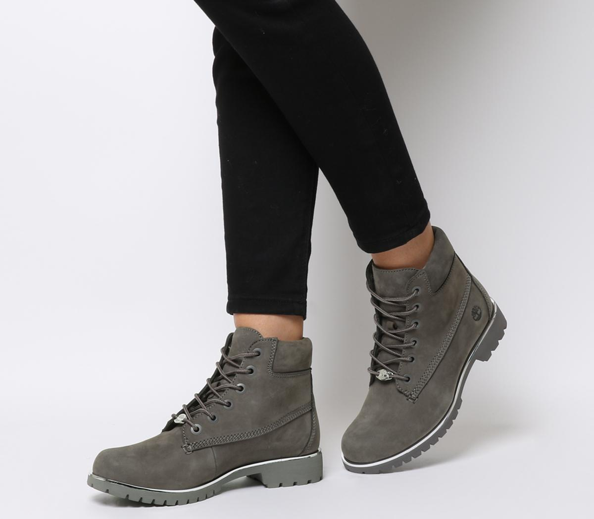 timberland slim premium 6 inch bottes of grey