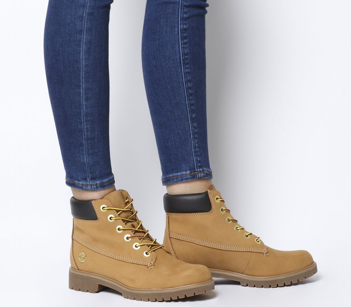 38418388d02b8 Timberland Slim Premium 6 Inch Boots Wheat - Ankle Boots