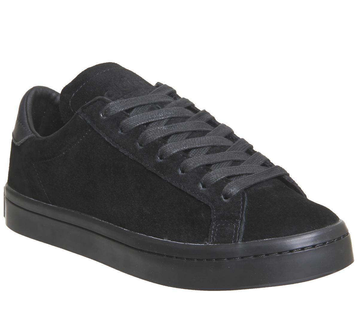 adidas Court Vantage Trainers Black
