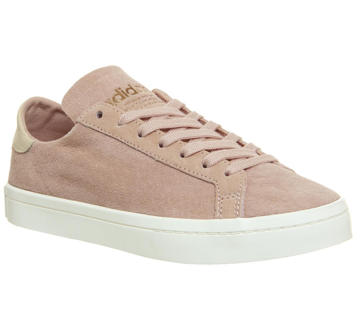 adidas Court Vantage Trainers Vapour Pink Linen - Sneaker damen