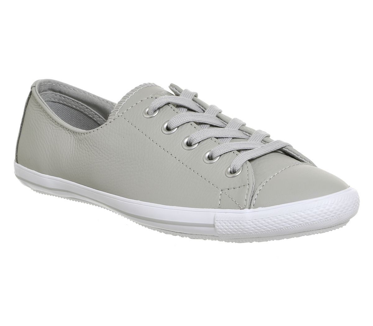 8c87783bd26a Converse Ct Lite 2 Trainers Ash Grey Leather Exclusive - Hers trainers