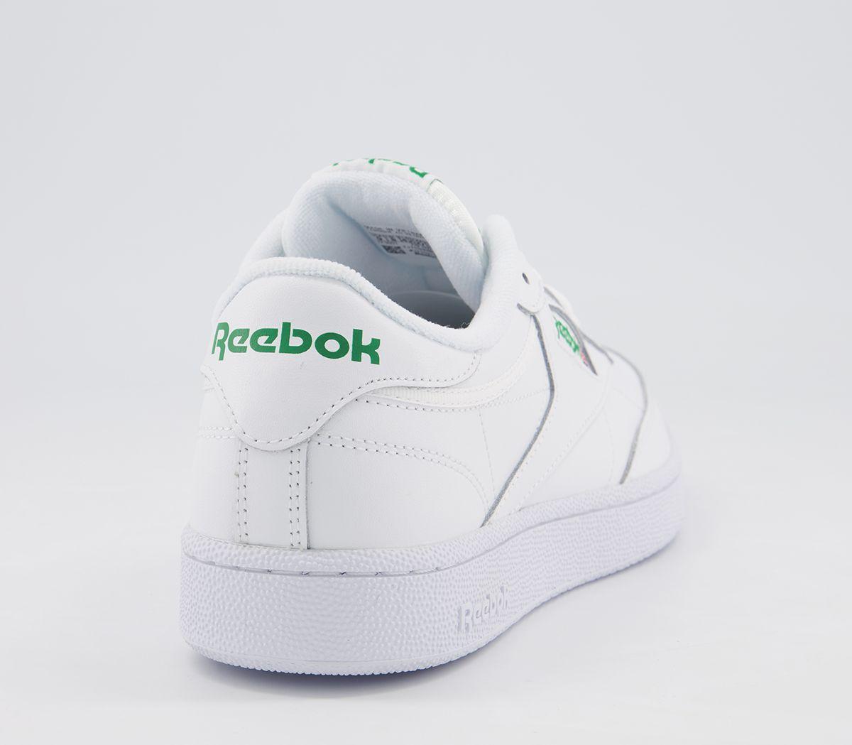 d7488db6542 Reebok Club C 85 White Green - His trainers