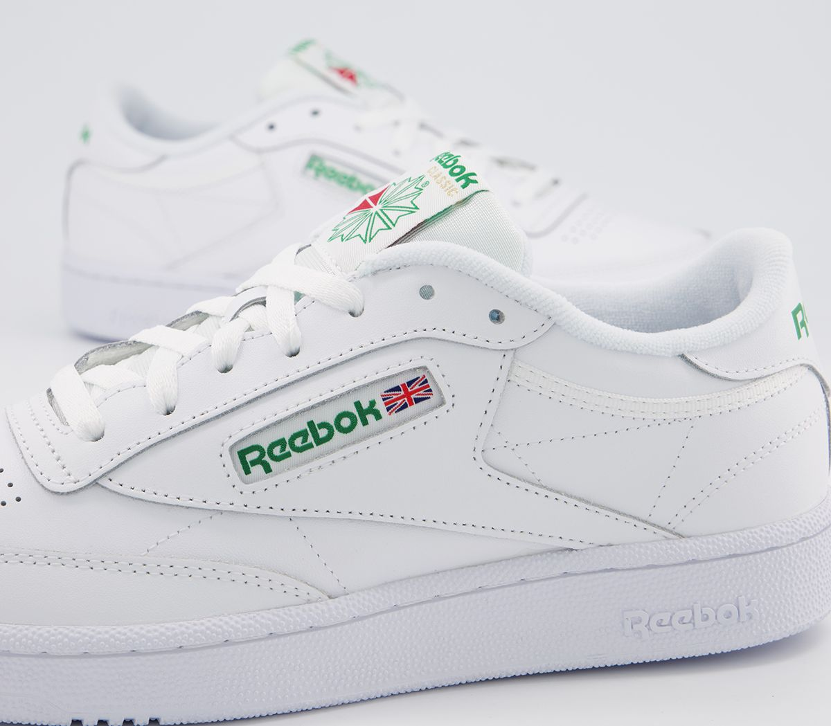 d7488db6542 Reebok Club C 85 White Green - His trainers