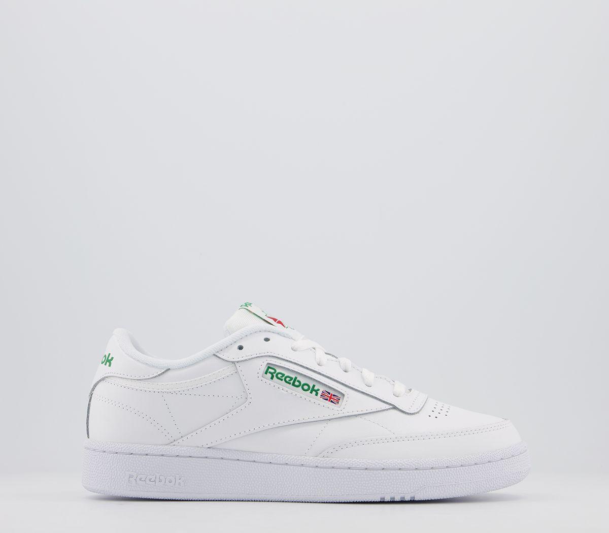 ae9218e9427 Reebok Club C 85 White Green - His trainers