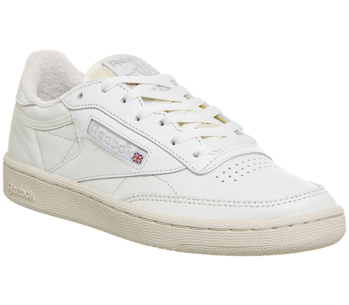 5923c6ad28ca0 Reebok Club C 85 Chalk Silver Vintage - Hers trainers
