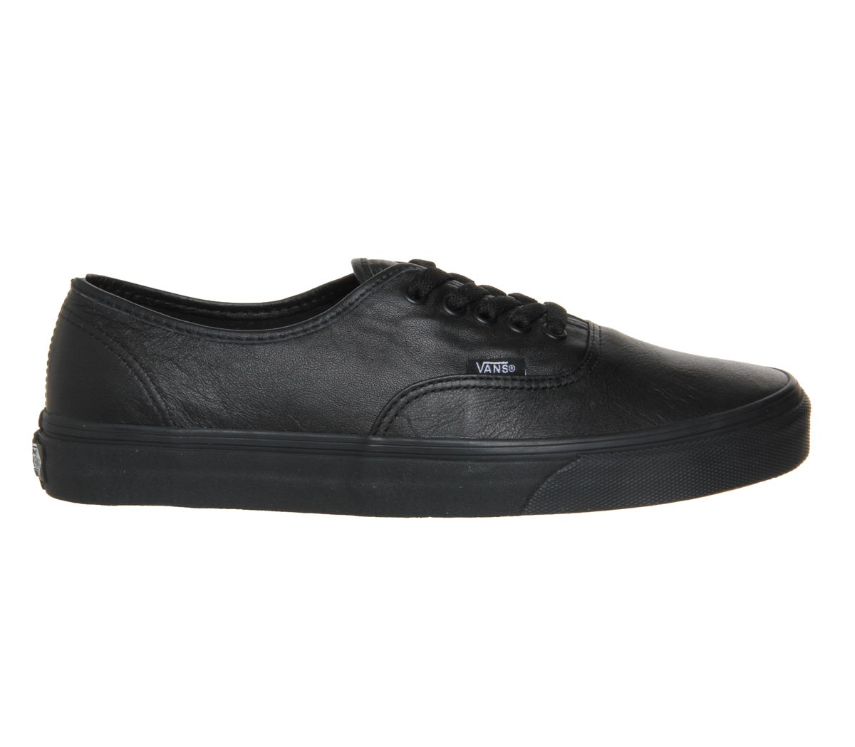 ea973c1cbc Vans Authentic Leather Black Mono - Unisex Sports