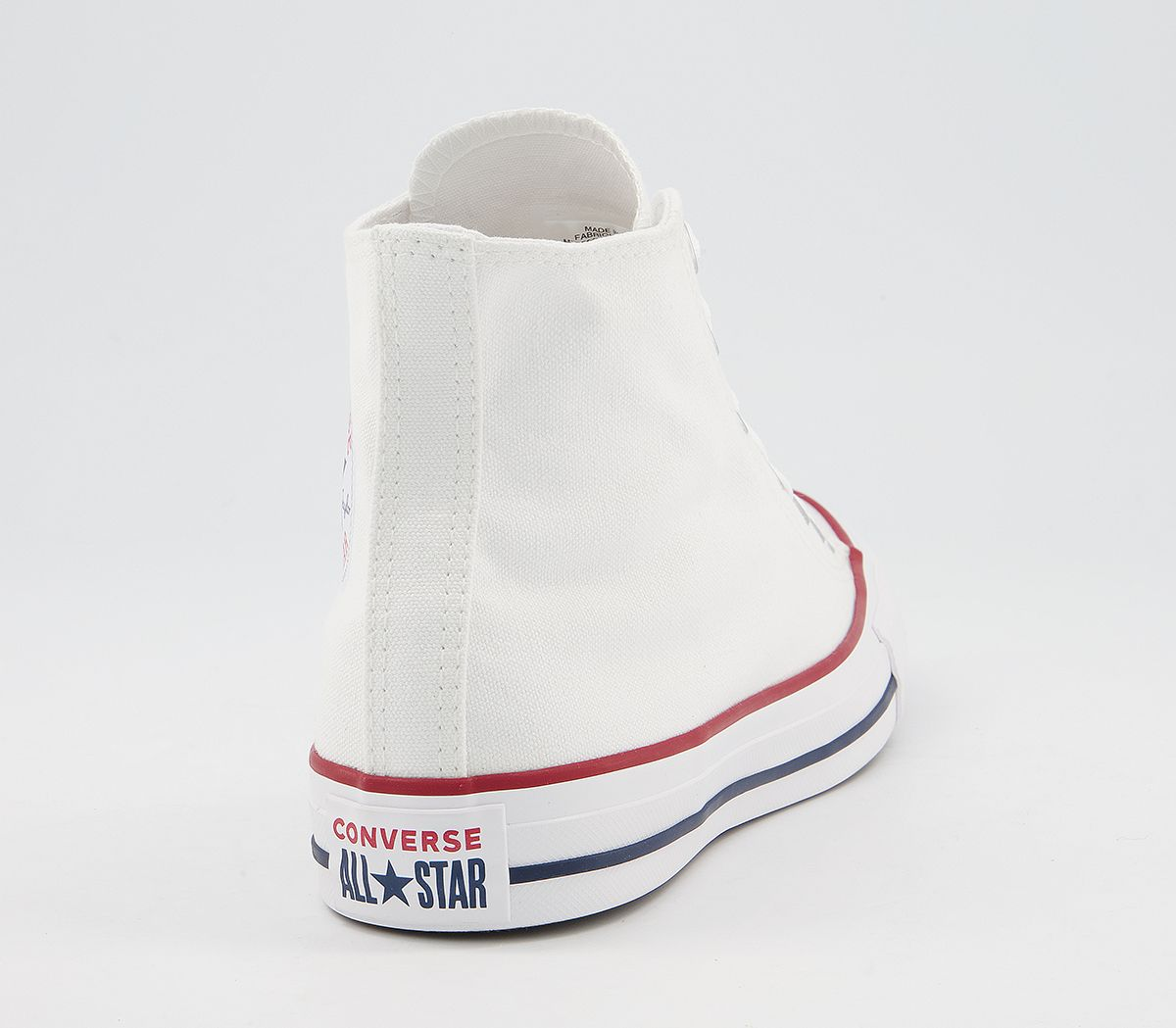 80c1fad29263 Converse All Star hi optical white canvas