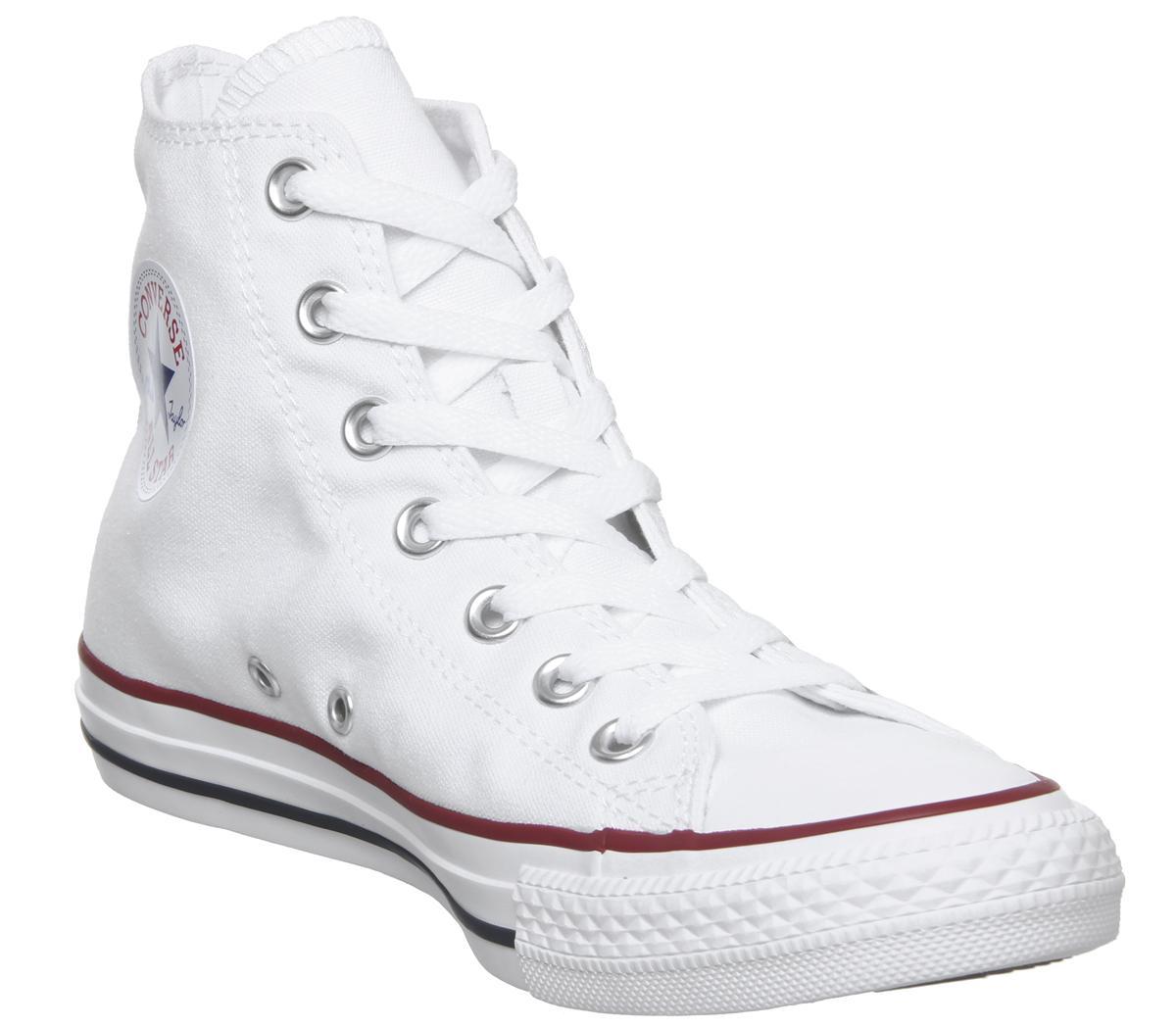 Converse Junior ALL STAR Hi Canvas White