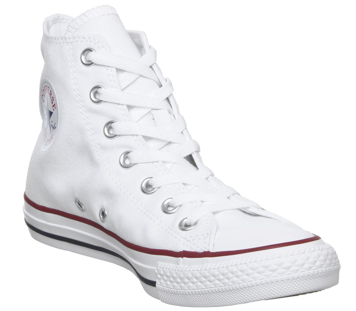 a9ec7417ed Converse All Star hi optical white canvas