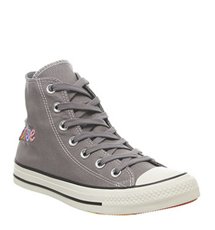 sale retailer 31713 3d4f4 Launching 09-05-2019 · Converse Converse All Star Hi Trainers Mason Egret  Rainbow Exclusive