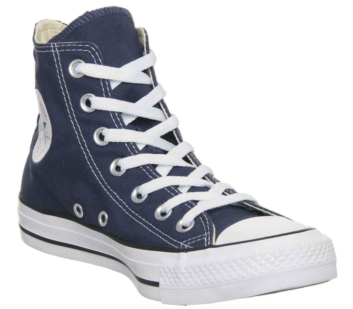 5e779fc6d16f9d Converse All Star Hi Navy Canvas - Unisex Sports