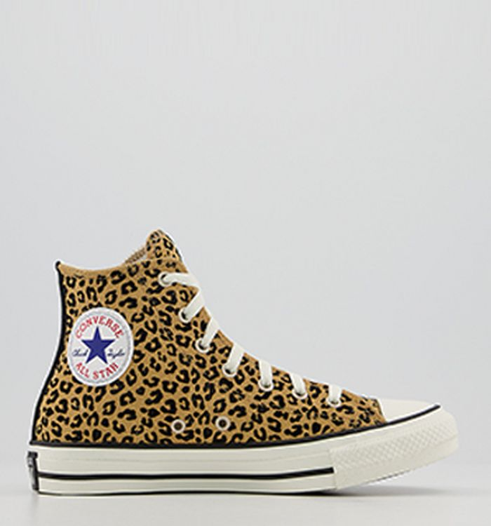 607261c9fbce 08-11-2018 · Converse Converse All Star Hi Trainers Yellow Black Egret  Leopard Exclusive. £64.99. Quickbuy