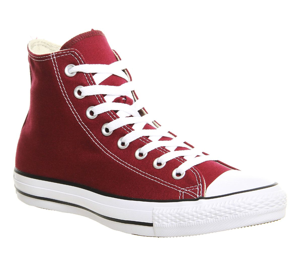 7457efdad0ed Converse All Star Hi Maroon - Unisex Sports