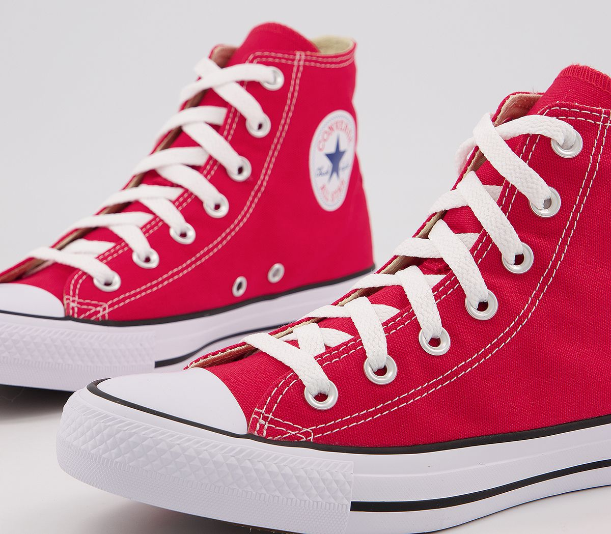 4f314a887b28 Converse All Star Hi Red Canvas - Unisex Sports