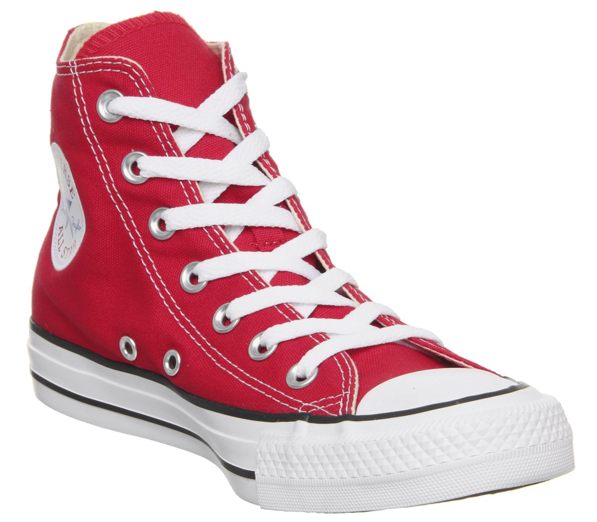 507a3b8525e0 Converse All Star Hi Red Canvas - Unisex Sports