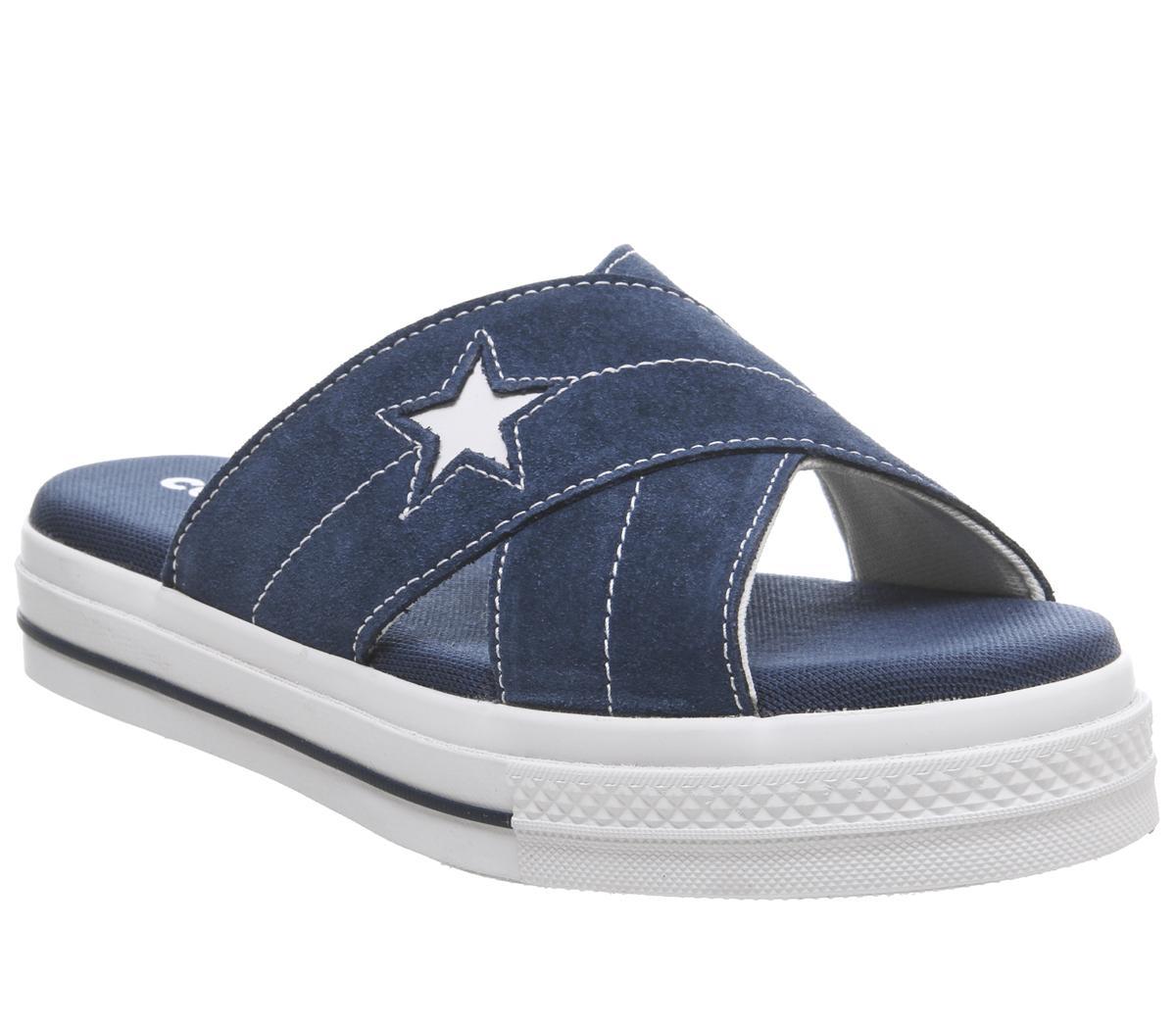 Egret Navy One Sandals White Sandalen Converse Star sxtdChrQB