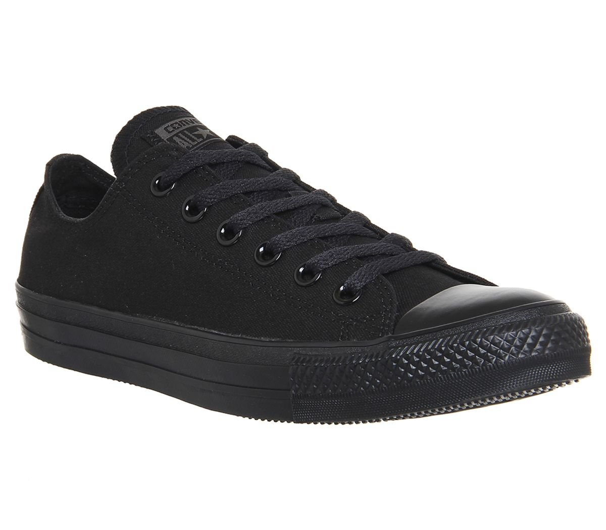 b54834cce92e Converse All Star Low Black Mono Canvas - Unisex Sports