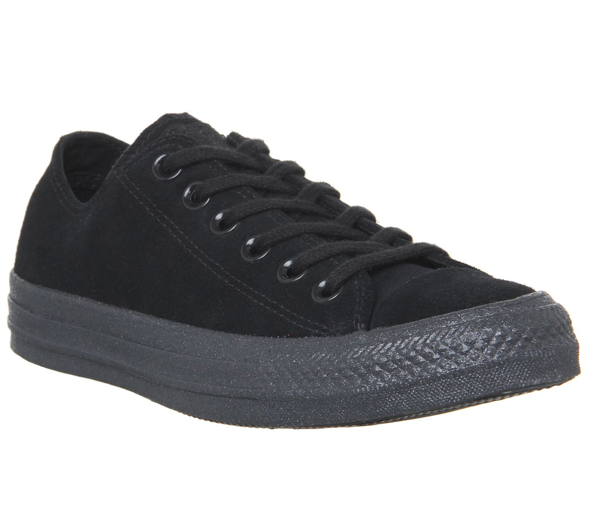 97b791aacd95b3 Converse Converse All Star Low Trainers Black Mono Glitter Exclusive ...