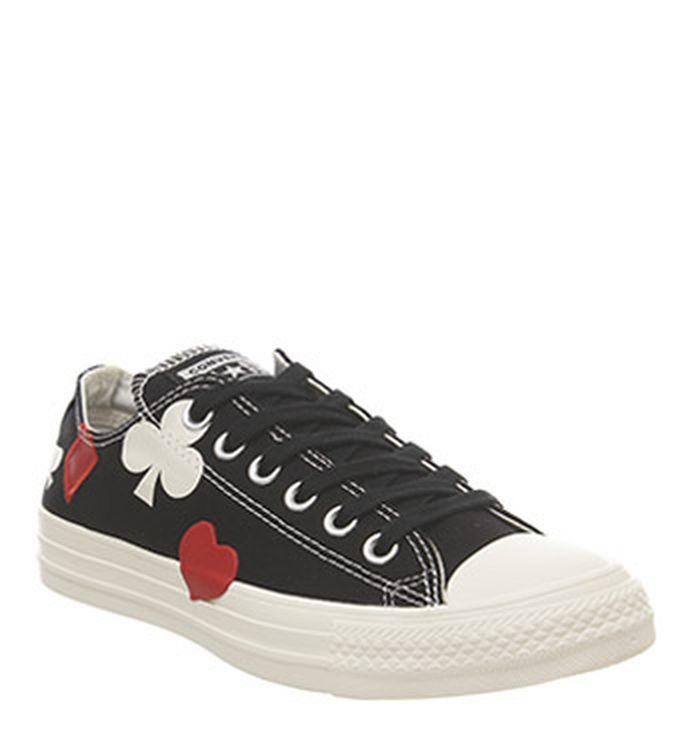 cfb38d63ff5d Converse All Star Hi Trainers Egret Black Enamel Red Cards Exclusive.  £64.99. Quickbuy. Launching 09-05-2019