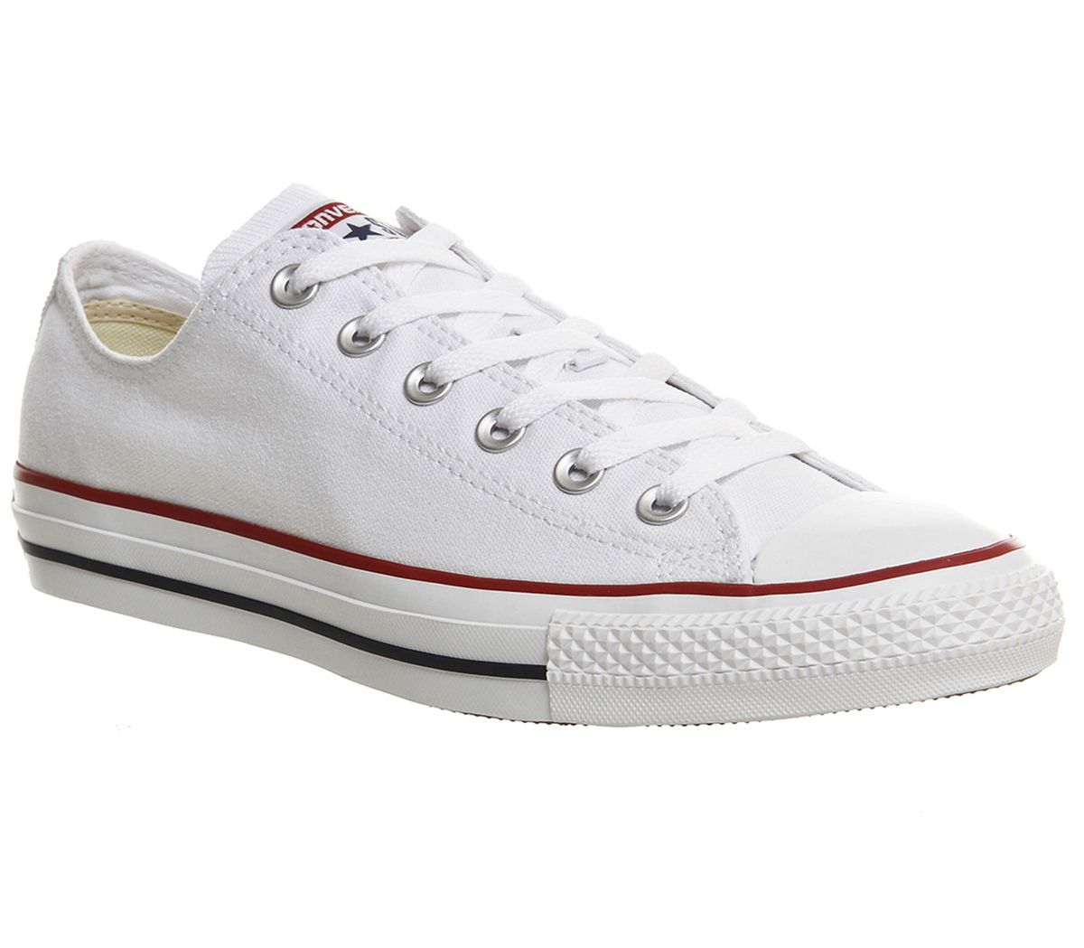 c8e5d95dfa Converse All Star Low White Canvas - Unisex Sports