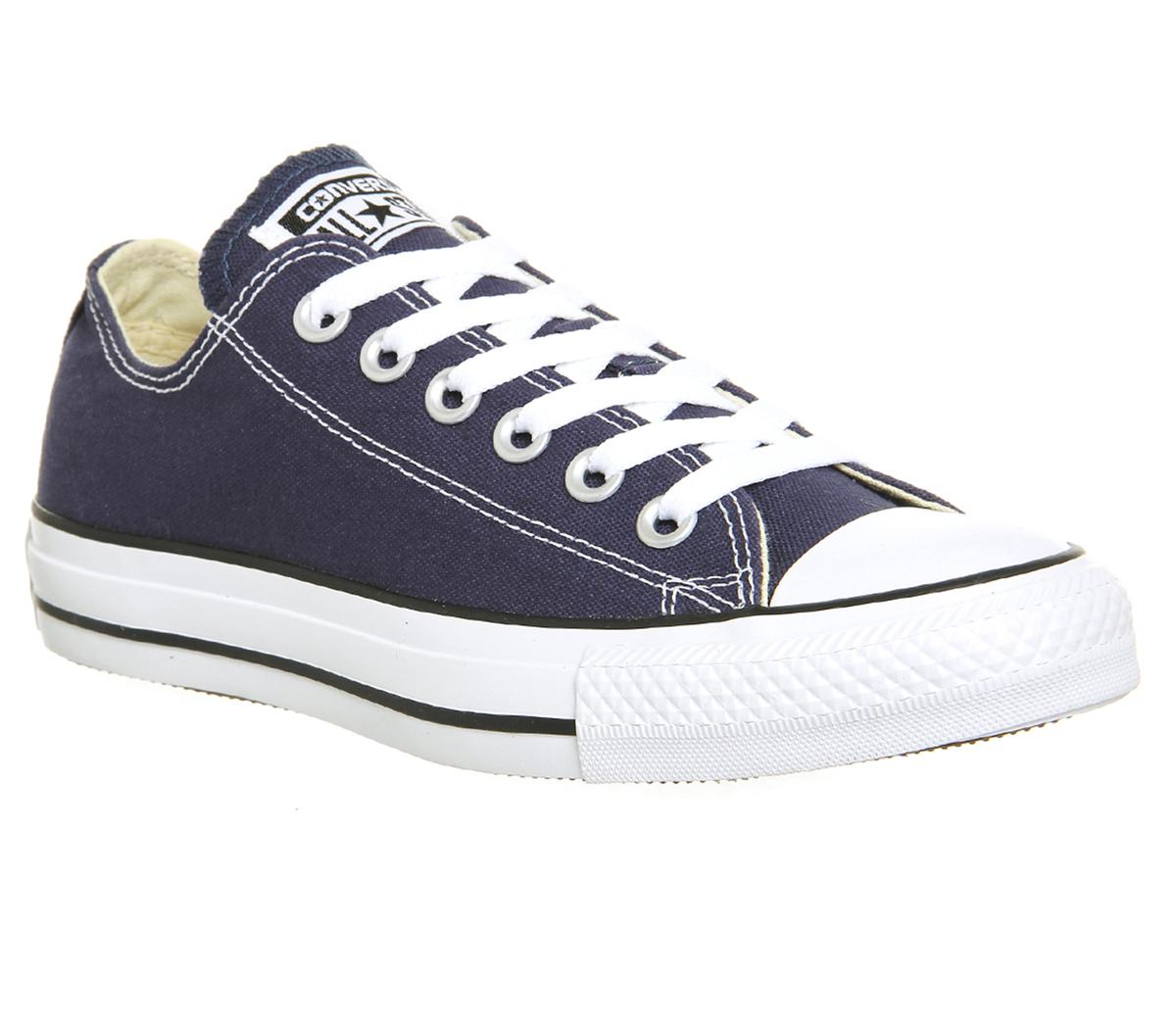1e82f59dae Converse All Star Low Navy Canvas - Unisex Sports