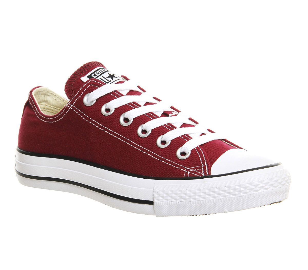 c1b05b92ea3d Converse All Star Low Maroon Canvas - Unisex Sports