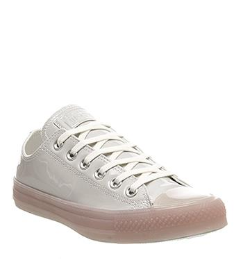 Besondere Converse All Star Ox Leather Infant Pink Snake