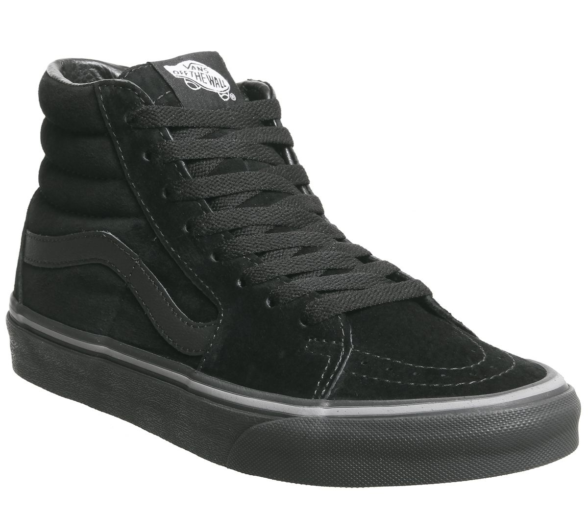 628afc478a8069 Vans Sk8 Hi Trainers Pirate Black Frost Grey - Unisex Sports