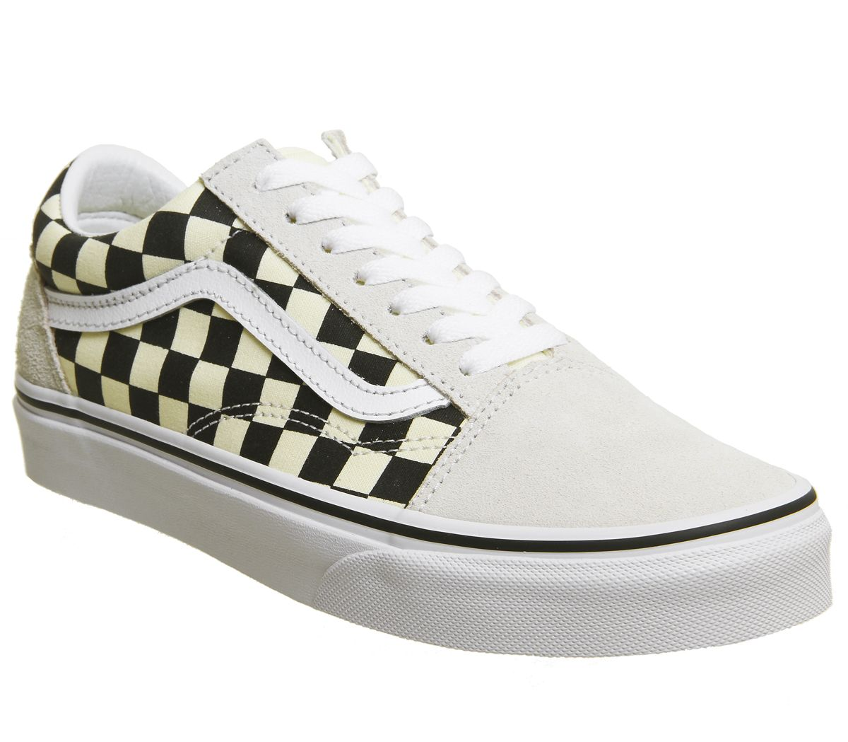 4345fb4ad7 Vans Old Skool Trainers Black White Checkerboard - Unisex Sports
