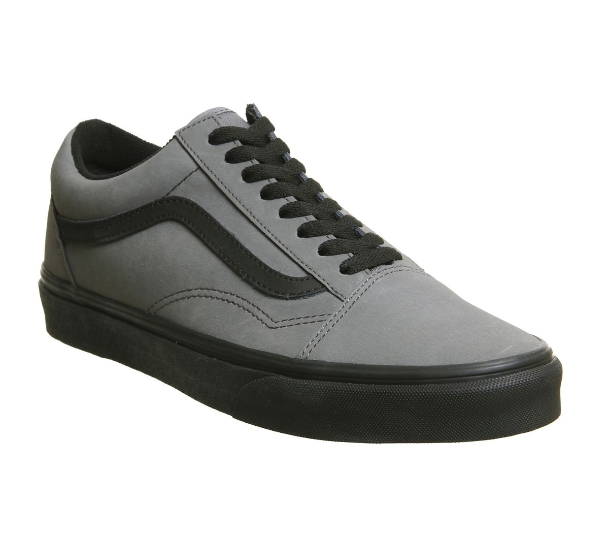 9e92f8dcc1 Vans Old Skool Trainers Pewter Black Vansbuck - Hers trainers