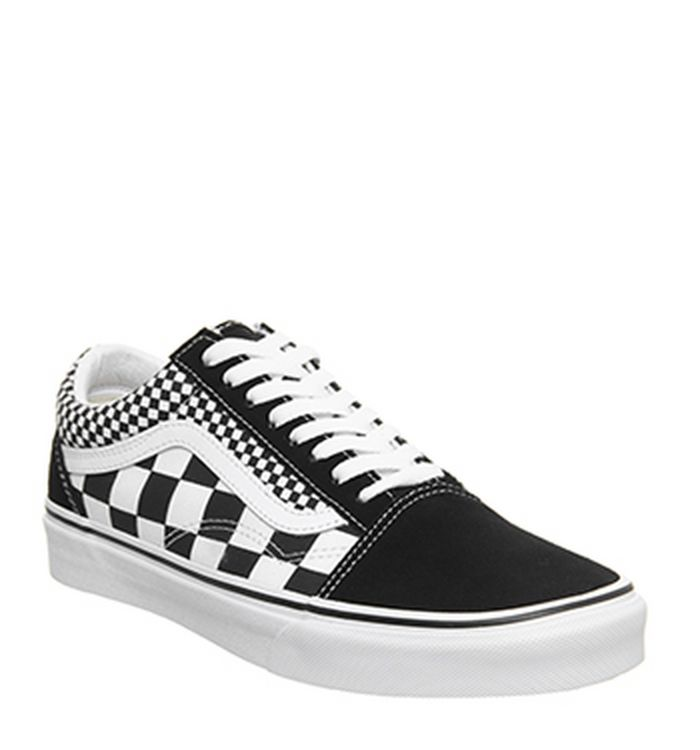 cb4d75b8da 27-03-2019 · Vans Old Skool Black Checkerboard True White