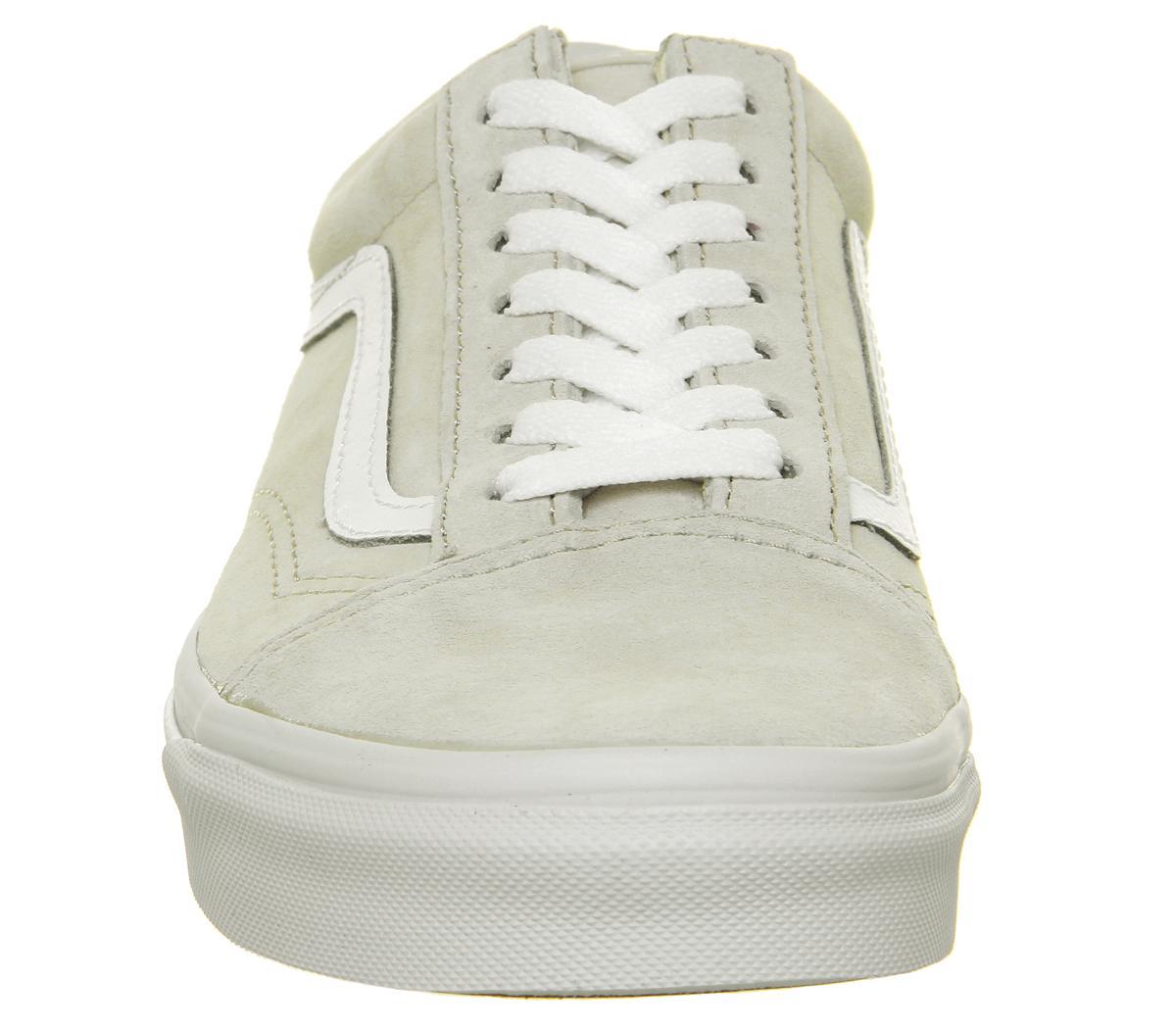 Vans Trainers Mens Moonbeam White 2421813604 Old Skool