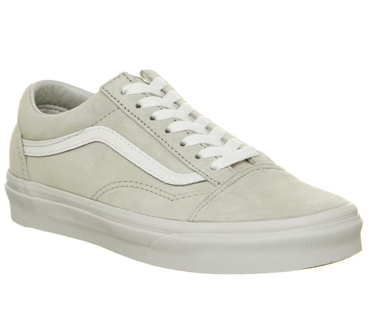Vans Old Skool Trainers Moonbeam White Sneaker damen