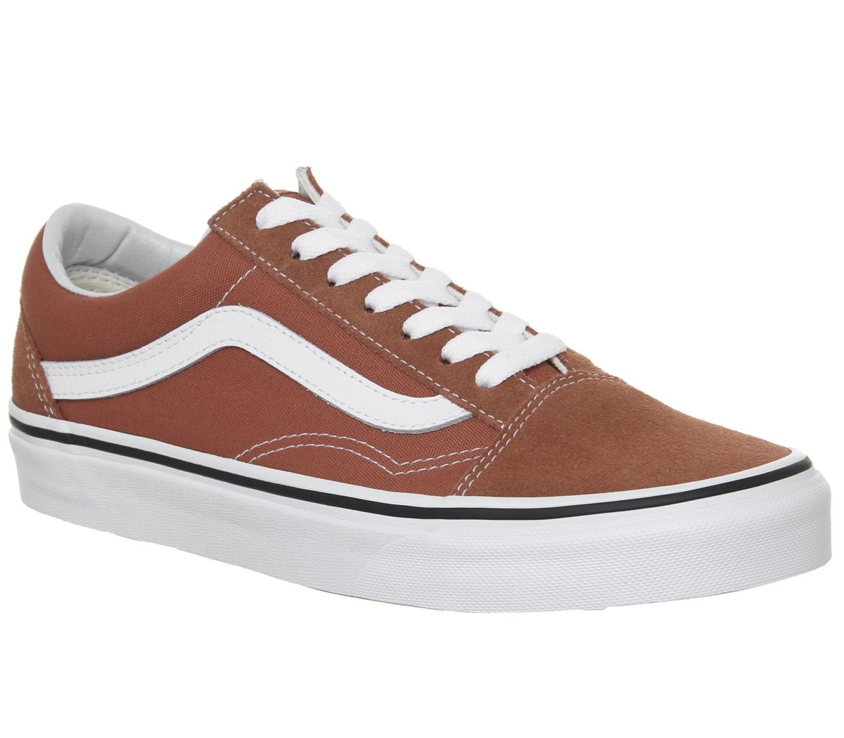 33bb0415ad Vans Old Skool Trainers Hot Sauce True White - Unisex Sports