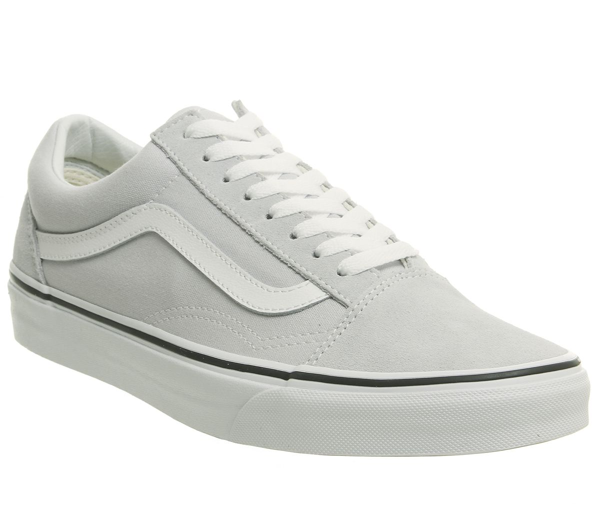 d6c9e10f60be3 Vans Old Skool Trainers Gray Dawn True White - Unisex Sports