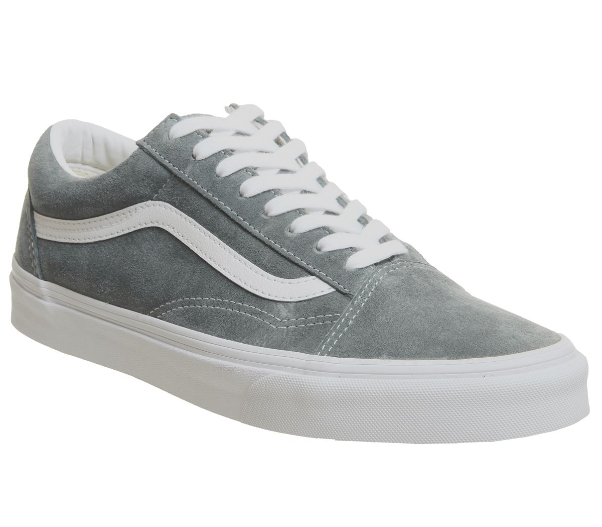 580329ca5fdf3 Vans Old Skool Trainers Stormy Weather True White - Hers trainers